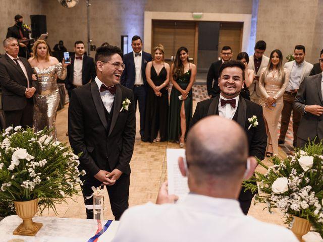 El matrimonio de César y Javier en Las Condes, Santiago 19
