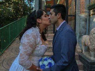 El matrimonio de Daniela y Abraham