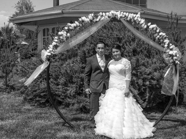 El matrimonio de Cintia y Ramón