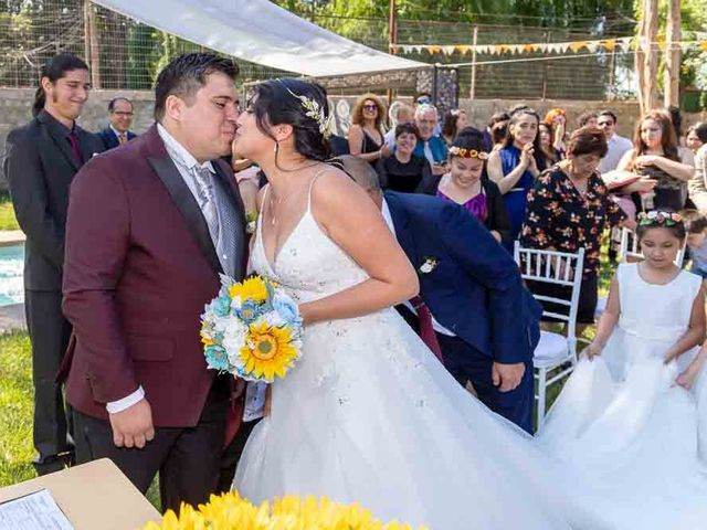 El matrimonio de Fabián y Victoria en Pudahuel, Santiago 16