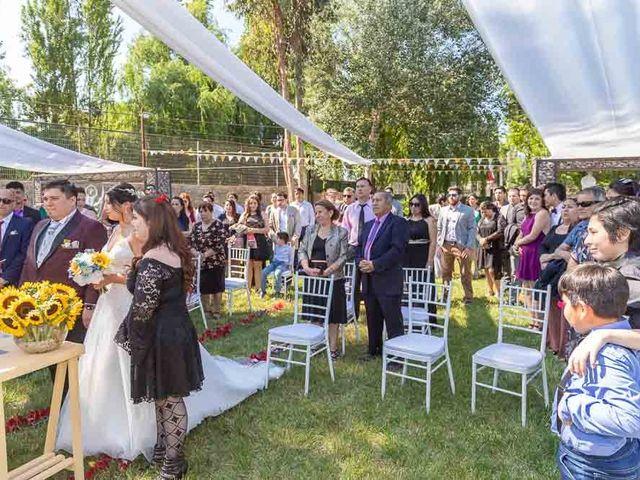 El matrimonio de Fabián y Victoria en Pudahuel, Santiago 22