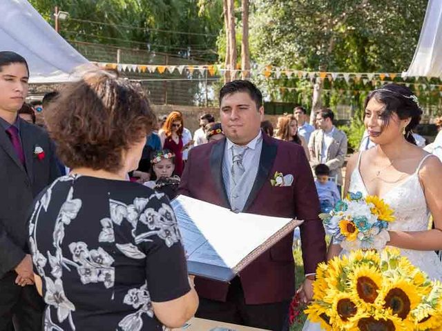 El matrimonio de Fabián y Victoria en Pudahuel, Santiago 32