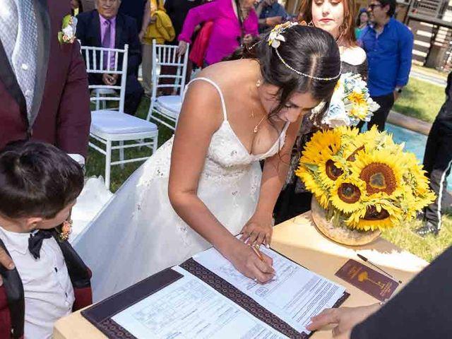 El matrimonio de Fabián y Victoria en Pudahuel, Santiago 37