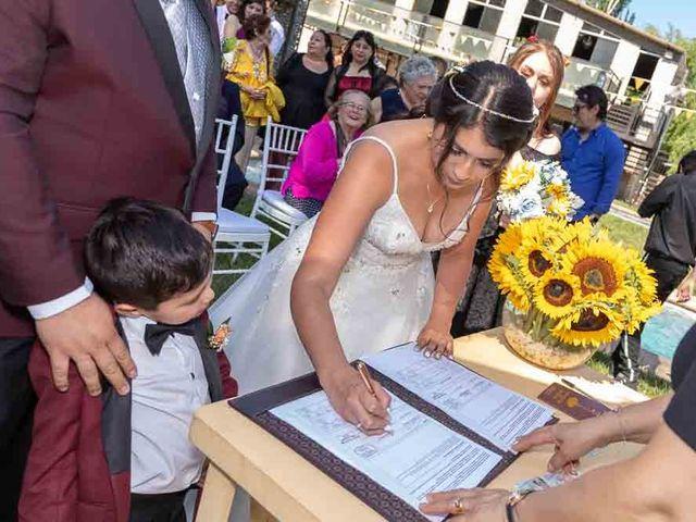 El matrimonio de Fabián y Victoria en Pudahuel, Santiago 38