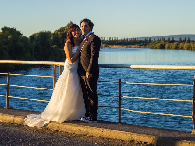El matrimonio de Angélica y Marco