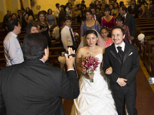 El matrimonio de Victor y Francisca