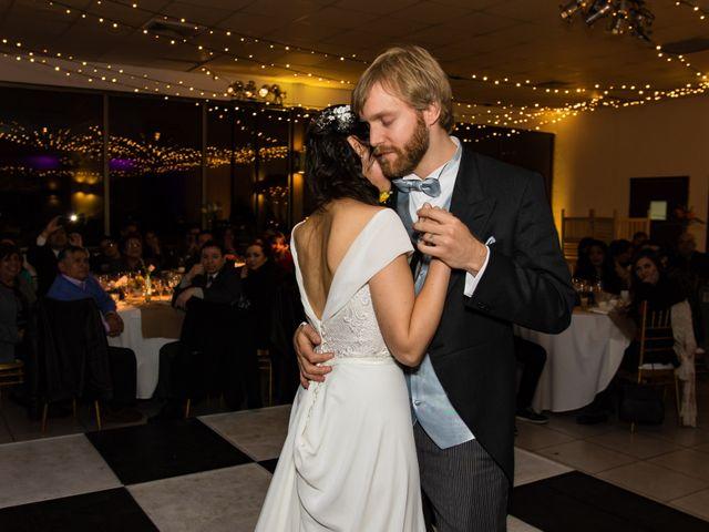 El matrimonio de Marcela y Frank