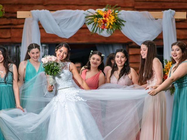 El matrimonio de Oswal y Katherine en San Carlos, Ñuble 1