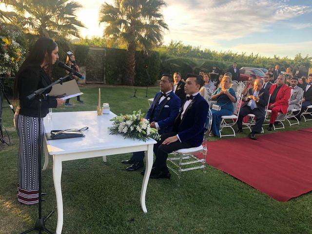 El matrimonio de Vladimir  y Juan