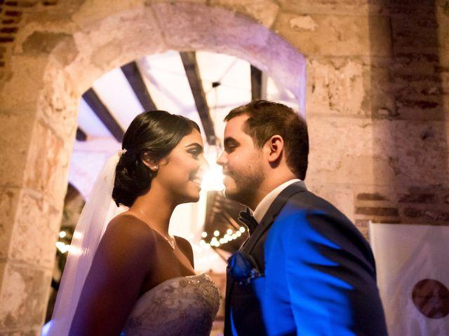 El matrimonio de Amaury y Erika
