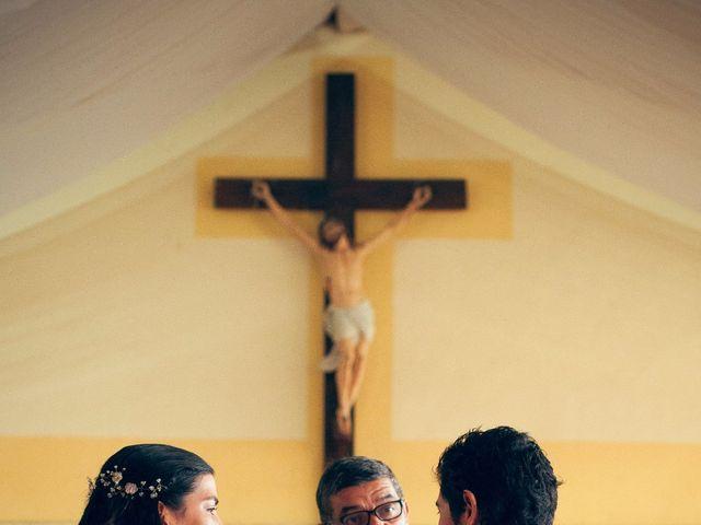 El matrimonio de César y Francisca en Vichuquén, Curicó 7