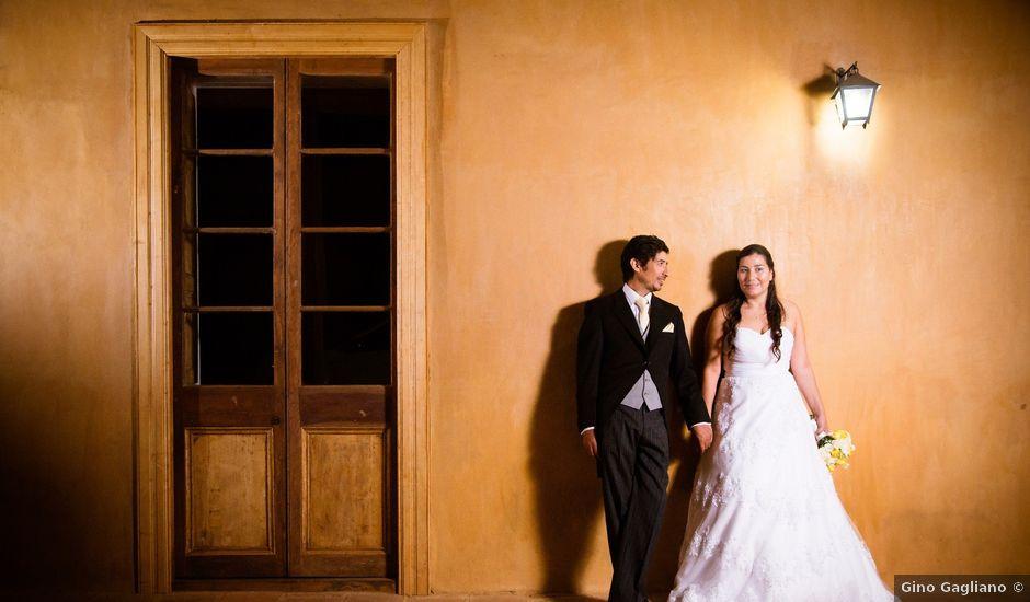El matrimonio de César y Francisca en Vichuquén, Curicó