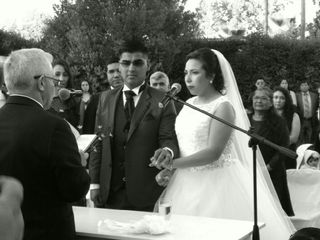El matrimonio de Magdalena  y Abraham 3