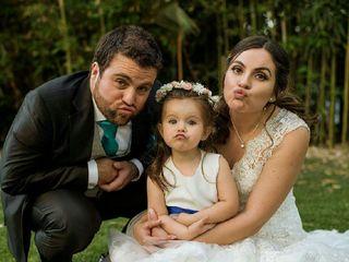 El matrimonio de Carolina y Rainer