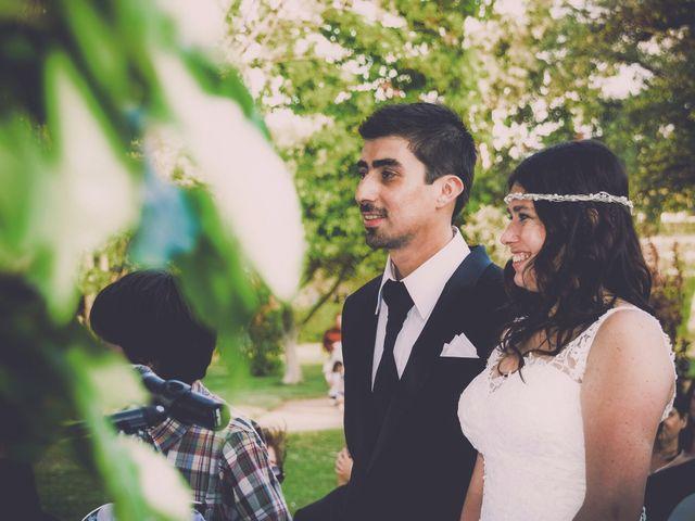 El matrimonio de Ricardo y María Paz