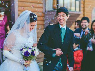 El matrimonio de Daniela y Marco