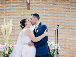 El matrimonio de Vanessa  y Luis