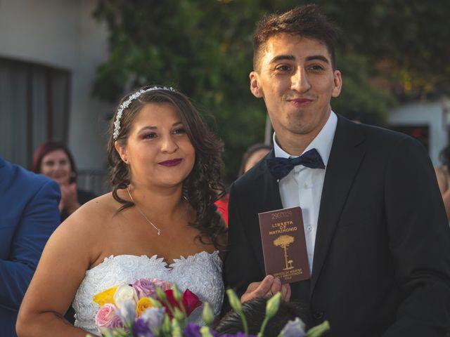 El matrimonio de Noelia y Marcelo