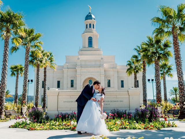 El matrimonio de Cristian y Soledad