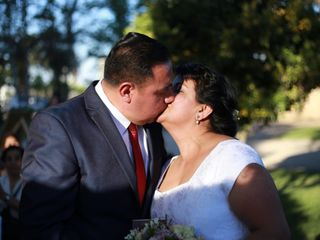 El matrimonio de Roxana y Jorge