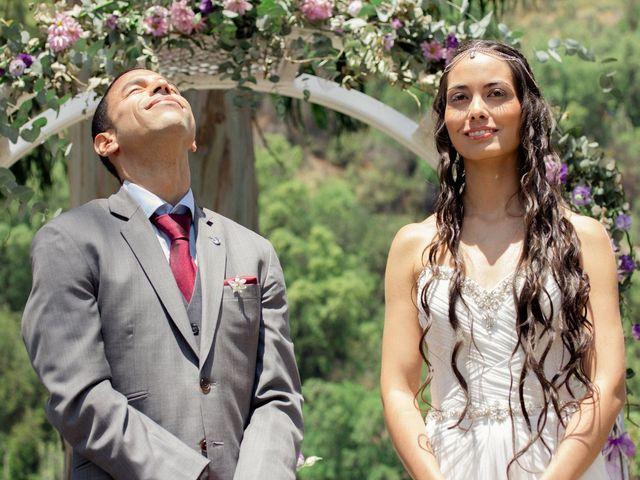 El matrimonio de Joseph y Carolina en San José de Maipo, Cordillera 1