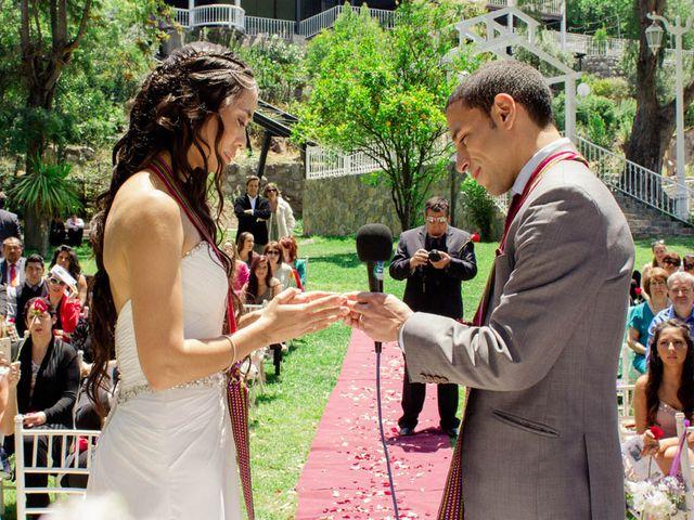 El matrimonio de Joseph y Carolina en San José de Maipo, Cordillera 2