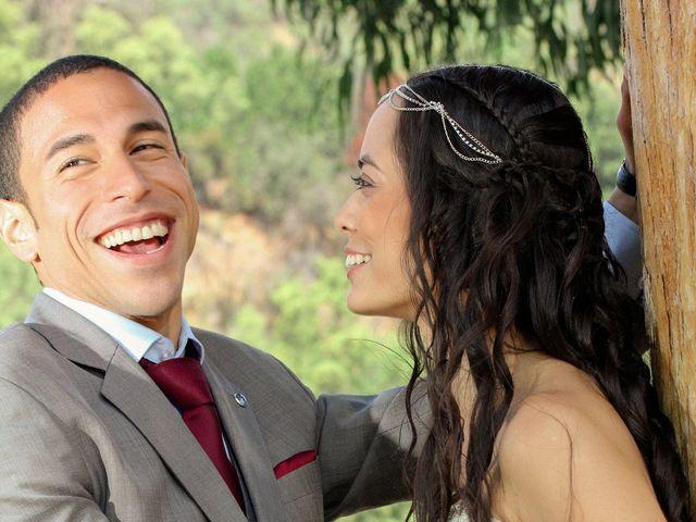 El matrimonio de Joseph y Carolina en San José de Maipo, Cordillera 6