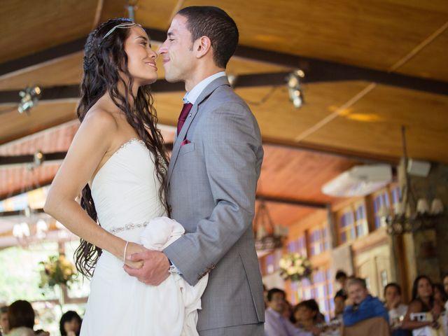 El matrimonio de Joseph y Carolina en San José de Maipo, Cordillera 7