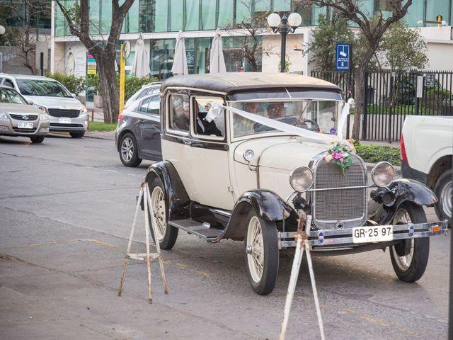 El matrimonio de Tracy y Víctor en Providencia, Santiago 5