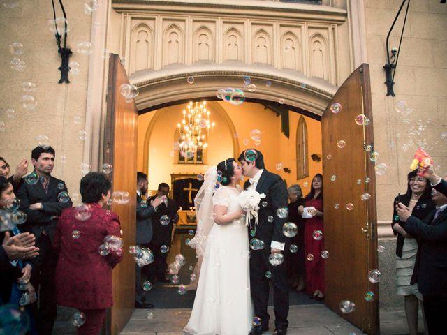 El matrimonio de Tracy y Víctor en Providencia, Santiago 11