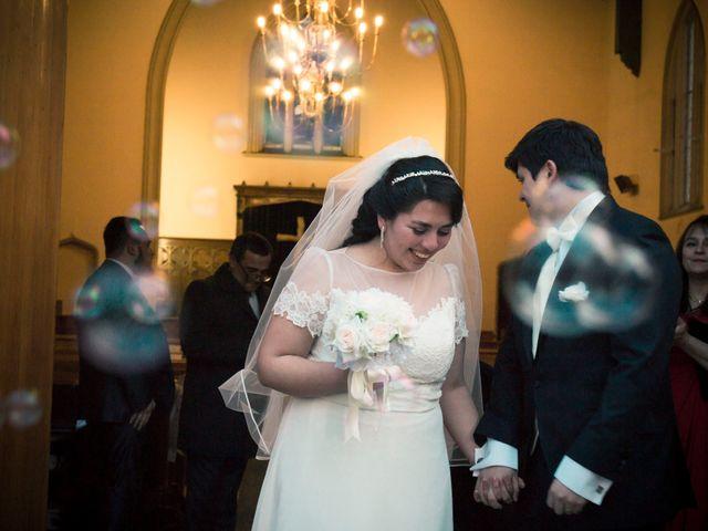 El matrimonio de Tracy y Víctor en Providencia, Santiago 12