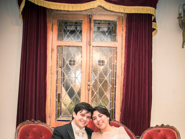 El matrimonio de Tracy y Víctor en Providencia, Santiago 15