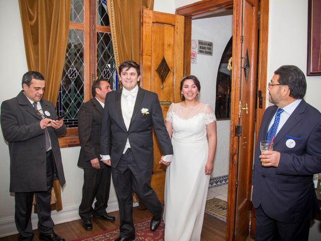 El matrimonio de Tracy y Víctor en Providencia, Santiago 17