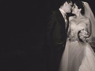 El matrimonio de Alexandra y Carlos 1