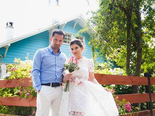 El matrimonio de Macarena y Germán