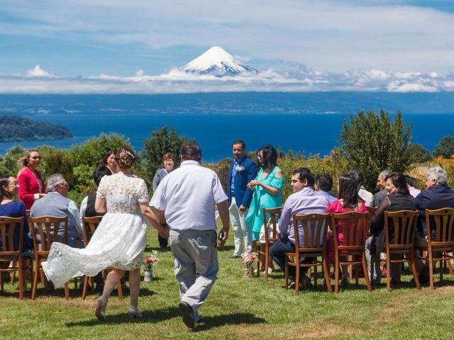 El matrimonio de Germán y Macarena en Puerto Octay, Osorno 9