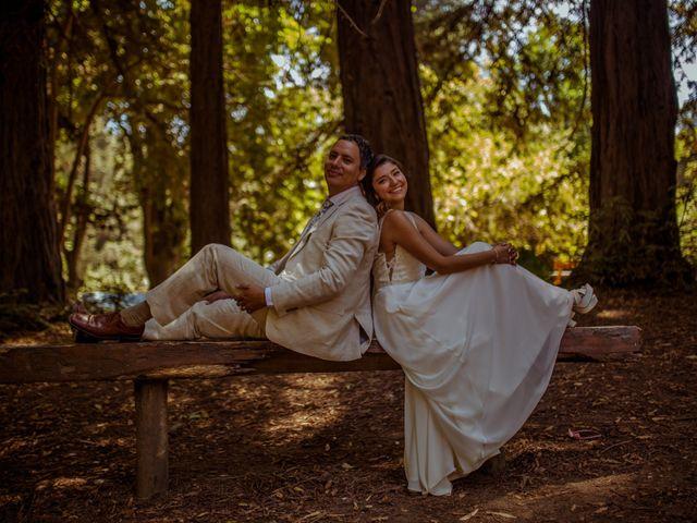El matrimonio de Mónica y Héctor