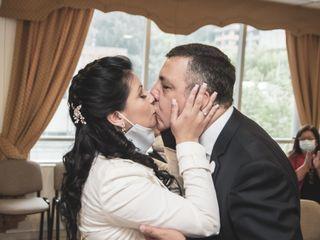 El matrimonio de Madeleine y Juan