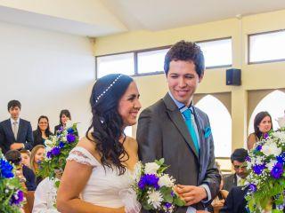 El matrimonio de Paula y Cristóbal