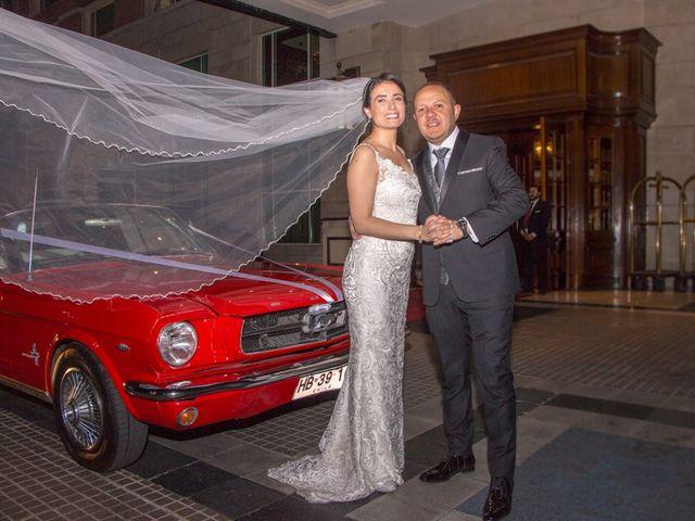 El matrimonio de María Pía y Rodrigo