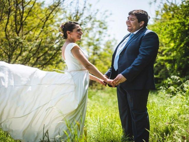El matrimonio de Héctor y Daniela en La Reina, Santiago 1