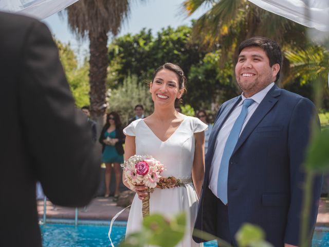 El matrimonio de Daniela y Héctor