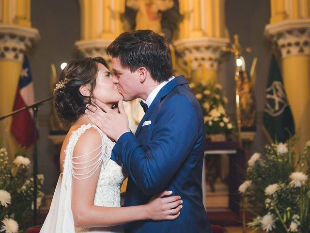 El matrimonio de Francisca y Juan Carlos