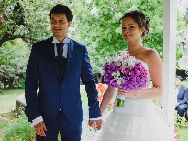 El matrimonio de Tanya y Roberto