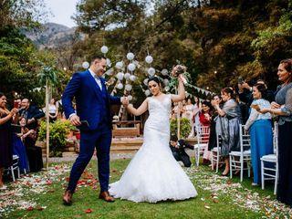El matrimonio de David y Emely