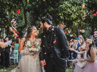 El matrimonio de Arlet y Mario