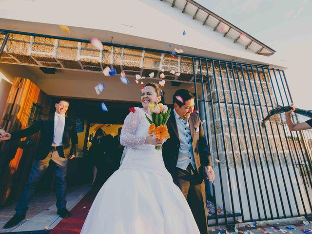 El matrimonio de Evelyn y Israel