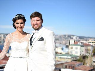 El matrimonio de Leonor y Sebastián