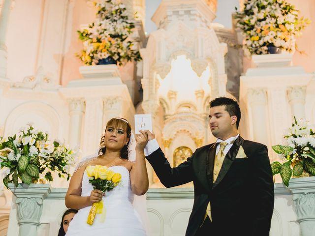 El matrimonio de Lidia y Sebastián