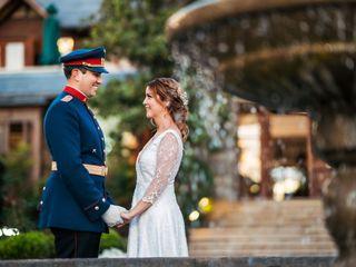 El matrimonio de Romina y Pablo